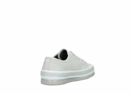 wolky lace up shoes 01230 linda 96206 light grey sand canvas_9