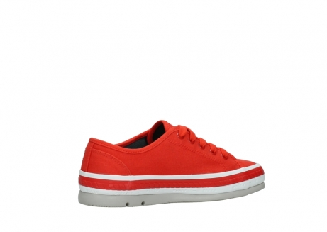 wolky lace up shoes 01230 linda 96500 red canvas_11