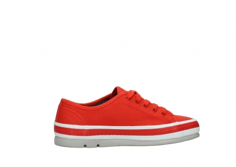 wolky lace up shoes 01230 linda 96500 red canvas_12