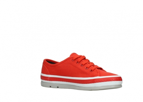 wolky lace up shoes 01230 linda 96500 red canvas_15