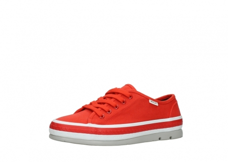 wolky lace up shoes 01230 linda 96500 red canvas_23