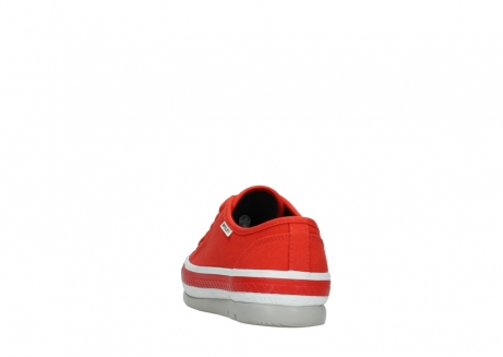 wolky lace up shoes 01230 linda 96500 red canvas_6