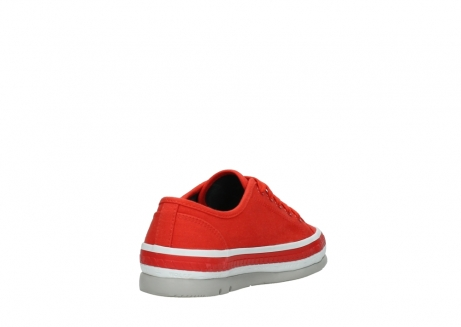 wolky lace up shoes 01230 linda 96500 red canvas_9