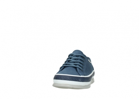 wolky lace up shoes 01230 linda 96830 navyblue canvas_20