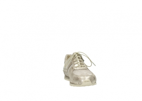 wolky chaussures a lacets 01402 morgan 10190 nubuck champagne_18