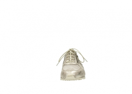 wolky chaussures a lacets 01402 morgan 10190 nubuck champagne_19