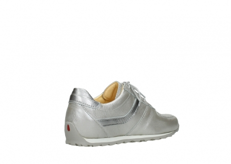 wolky lace up shoes 01402 morgan 81130 silver leather_10