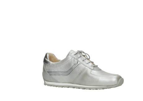 wolky lace up shoes 01402 morgan 81130 silver leather_15