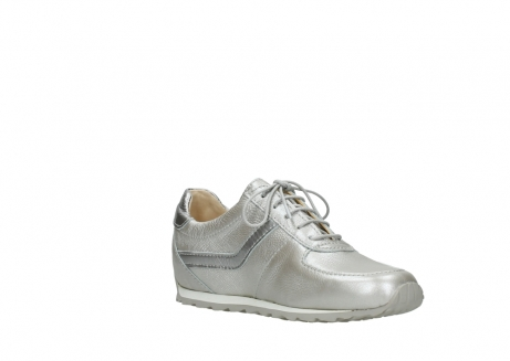 wolky lace up shoes 01402 morgan 81130 silver leather_16