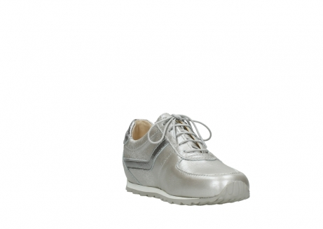 wolky lace up shoes 01402 morgan 81130 silver leather_17