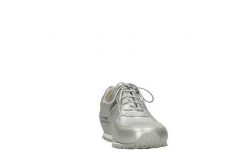 wolky lace up shoes 01402 morgan 81130 silver leather_18