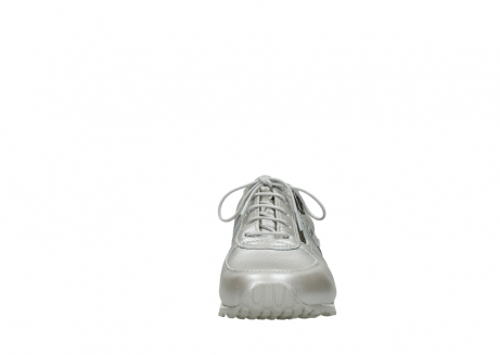 wolky lace up shoes 01402 morgan 81130 silver leather_19