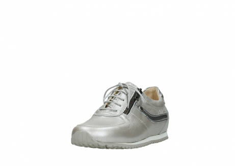 wolky lace up shoes 01402 morgan 81130 silver leather_21