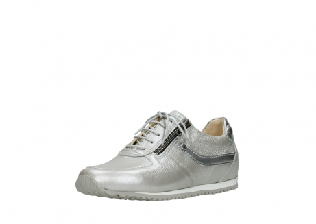 wolky lace up shoes 01402 morgan 81130 silver leather_22