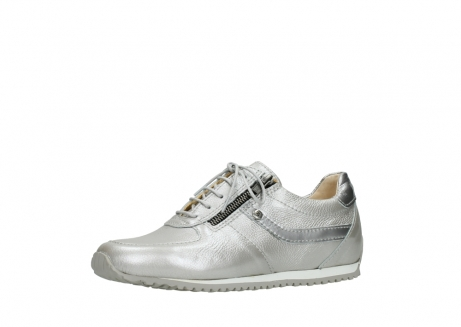 wolky lace up shoes 01402 morgan 81130 silver leather_23