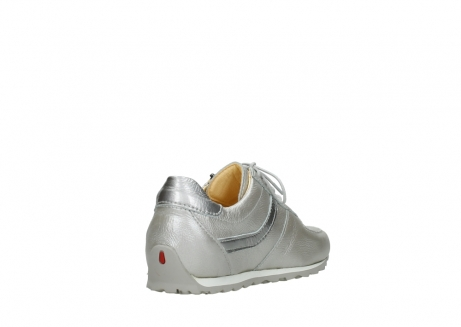 wolky lace up shoes 01402 morgan 81130 silver leather_9