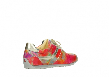 wolky chaussures a lacets 01402 morgan 91990 cuir jaune multi_10