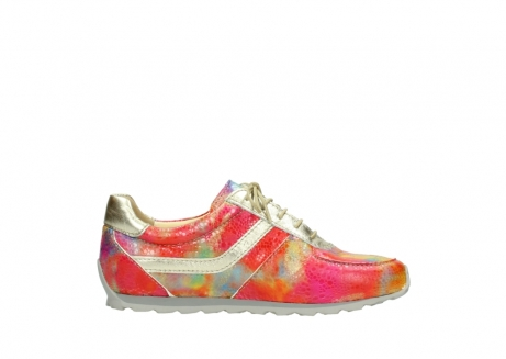 wolky chaussures a lacets 01402 morgan 91990 cuir jaune multi_13