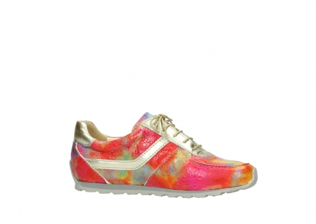 wolky chaussures a lacets 01402 morgan 91990 cuir jaune multi_14