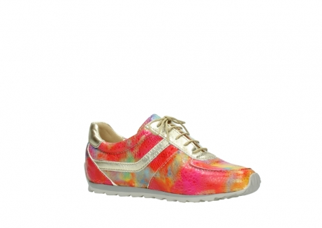 wolky chaussures a lacets 01402 morgan 91990 cuir jaune multi_15