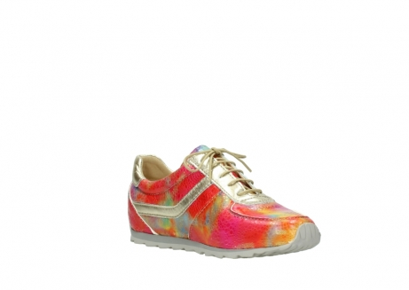 wolky chaussures a lacets 01402 morgan 91990 cuir jaune multi_16