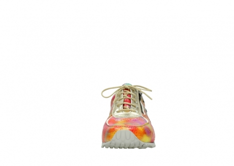 wolky chaussures a lacets 01402 morgan 91990 cuir jaune multi_19