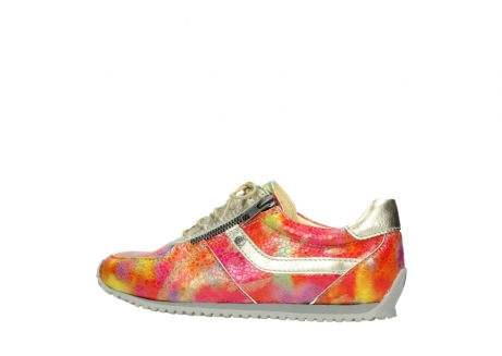 wolky chaussures a lacets 01402 morgan 91990 cuir jaune multi_2
