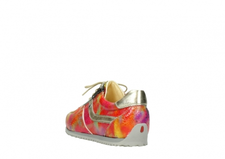 wolky chaussures a lacets 01402 morgan 91990 cuir jaune multi_5