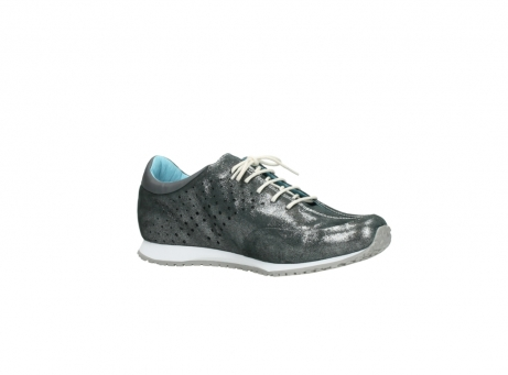 wolky lace up shoes 01481 elland 10210 anthracite metallic leather_15