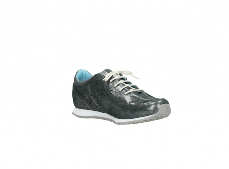 wolky lace up shoes 01481 elland 10210 anthracite metallic leather_16