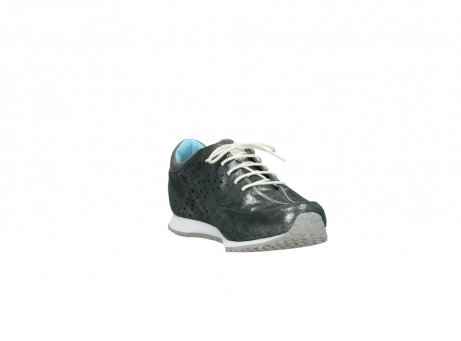 wolky lace up shoes 01481 elland 10210 anthracite metallic leather_17