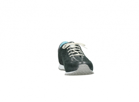 wolky lace up shoes 01481 elland 10210 anthracite metallic leather_18