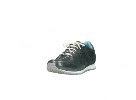 wolky lace up shoes 01481 elland 10210 anthracite metallic leather_21