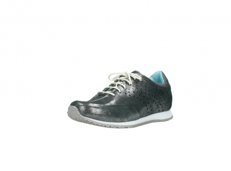 wolky lace up shoes 01481 elland 10210 anthracite metallic leather_22