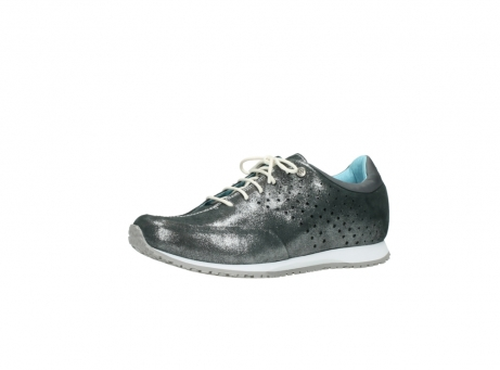 wolky lace up shoes 01481 elland 10210 anthracite metallic leather_23