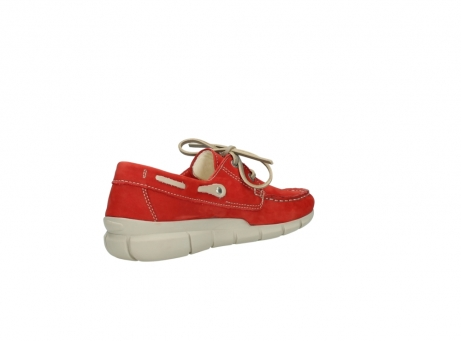 wolky lace up shoes 01509 cahita 10570 red nubuck_10