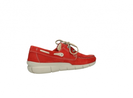 wolky lace up shoes 01509 cahita 10570 red nubuck_11