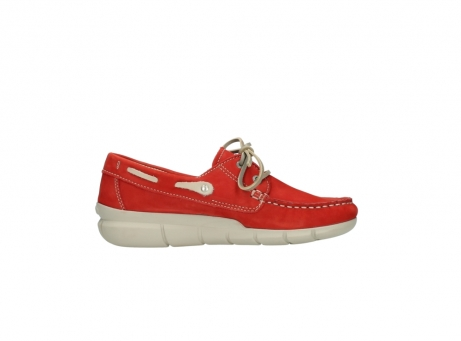 wolky lace up shoes 01509 cahita 10570 red nubuck_13