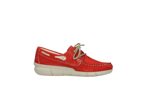 wolky lace up shoes 01509 cahita 10570 red nubuck_14