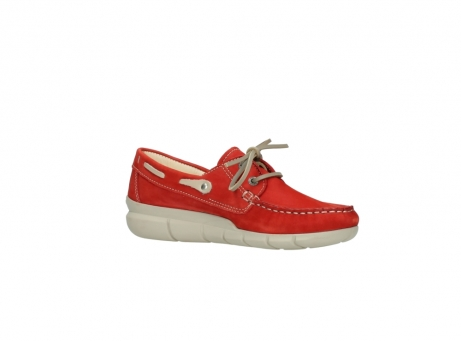 wolky lace up shoes 01509 cahita 10570 red nubuck_15