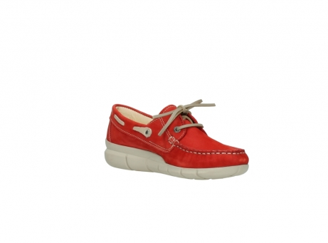 wolky lace up shoes 01509 cahita 10570 red nubuck_16