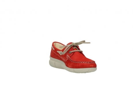 wolky lace up shoes 01509 cahita 10570 red nubuck_17