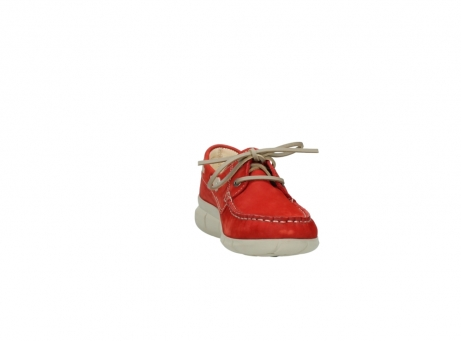 wolky lace up shoes 01509 cahita 10570 red nubuck_18