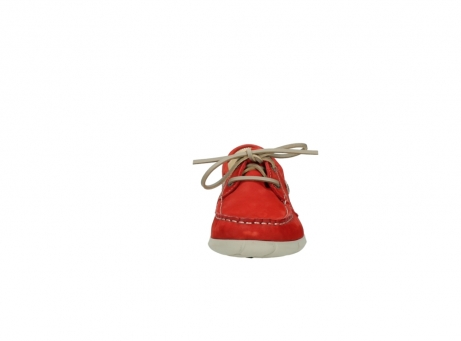 wolky lace up shoes 01509 cahita 10570 red nubuck_19