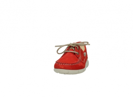 wolky lace up shoes 01509 cahita 10570 red nubuck_20