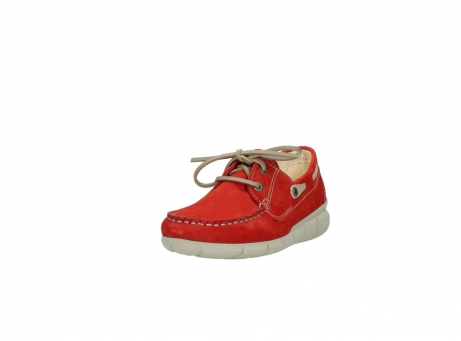 wolky lace up shoes 01509 cahita 10570 red nubuck_21