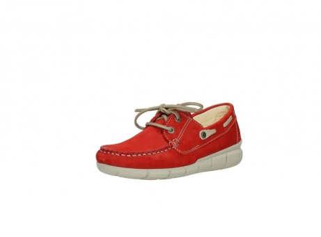 wolky lace up shoes 01509 cahita 10570 red nubuck_22