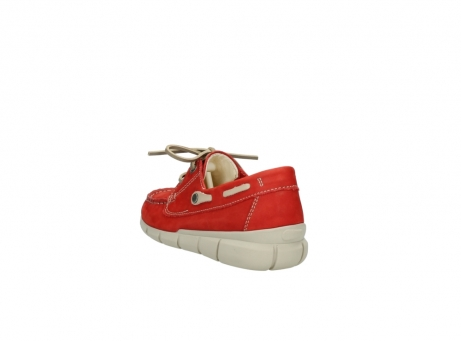 wolky lace up shoes 01509 cahita 10570 red nubuck_5