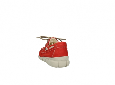 wolky lace up shoes 01509 cahita 10570 red nubuck_6
