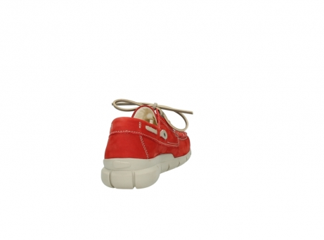 wolky lace up shoes 01509 cahita 10570 red nubuck_8